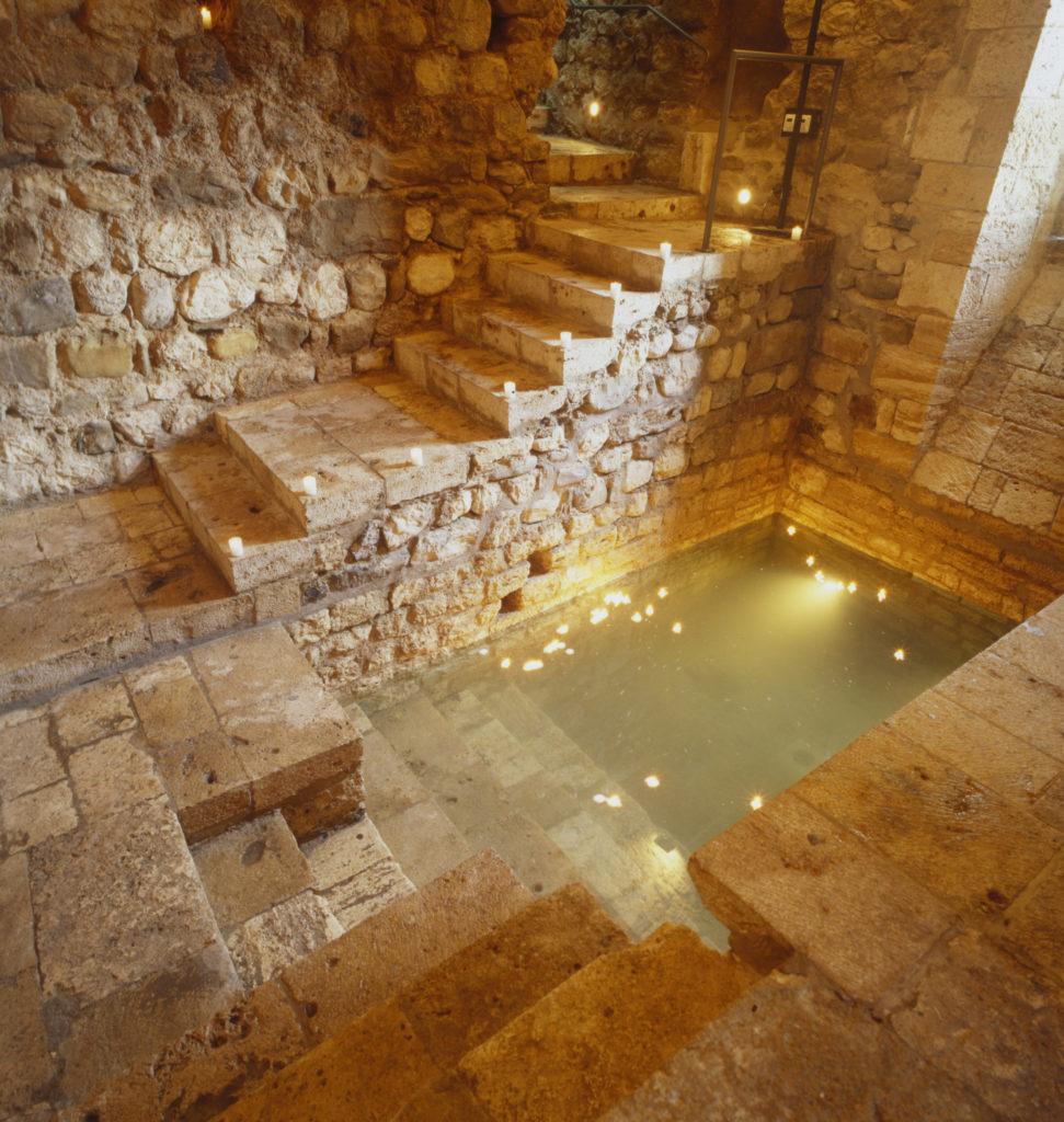 המרחצאות היהודיים בבסאלו