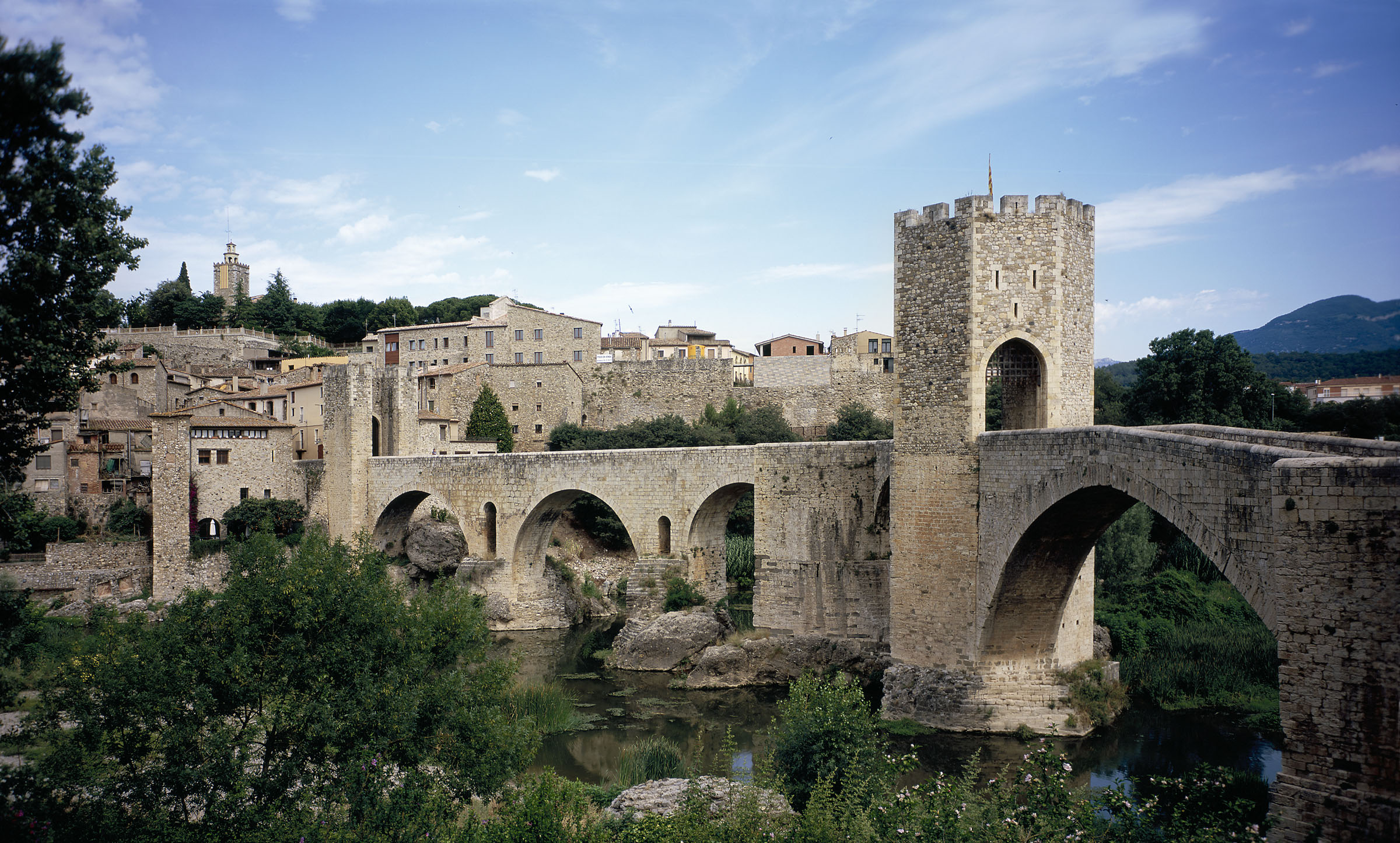 Jewish Bathhouse In Besalu
